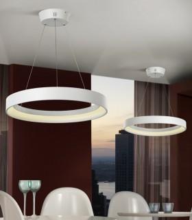 Lámpara CRONOS blanco grande - Schuller