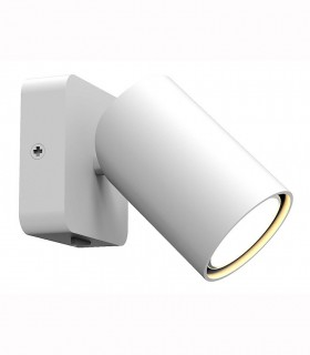 Aplique SAL 1L 6284 Mantra. Foco de pared orientable con interruptor.