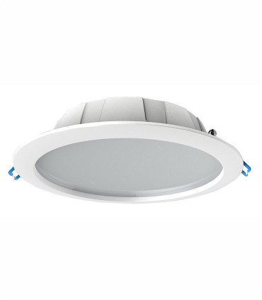 Downlight IP44 GRACIOSA 24.5W Blanco 23.5cm Mantra, disponible en 3000K ó 4000K