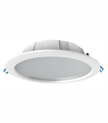 Downlight IP44 GRACIOSA 24.5W Blanco 23.5cm Mantra, disponible en 3000K ó 4000K