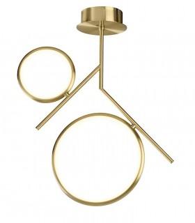 Lámpara de techo Olimpia LED 30W oro mate 6582 Mantra