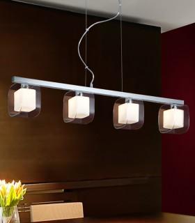 Lámpara CUBE 4 luces - Schuller 183431