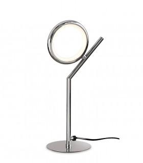 Lámpara de sobremesa Olimpia cromo brillo 6596 8W Mantra