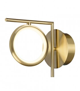 Aplique de pared Olimpia oro mate 6585 8W Mantra