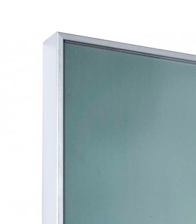 Detalle marco Cuadro cristal loro azul