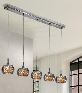Lámpara ARIAN 5 luces - Schuller