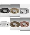 Aro Empotrable Orientable redondo GU10 98mm NC1860R - YLD