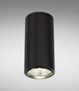 Foco de superficie CIL FIJO GRAFITO LED 10W Ø90mm