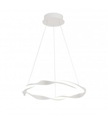 Lámpara techo MADAGASCAR  24W Blanco 6573 de Mantra