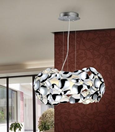 Lámpara 3 luces NARISA 32cm cromo - Schuller 266172