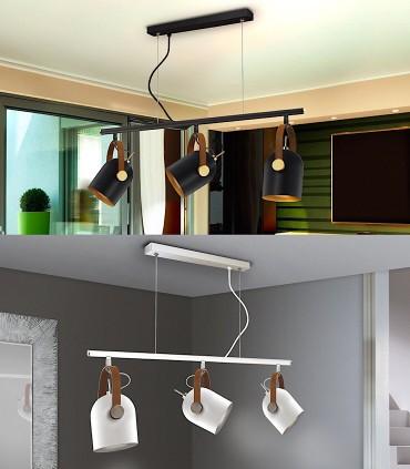 Lámpara nórdica ADAME 3 luces de Schuller
