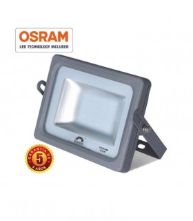 Proyector led 25W chip Osram gris