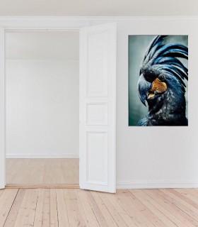 Realza tu pared con este fabuloso cuadro de cristal con marco.