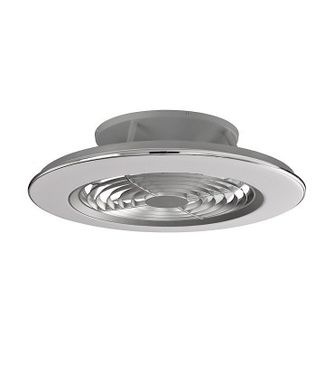 Ventilador de techo Alisio Mantra gris DC con Mando 6706