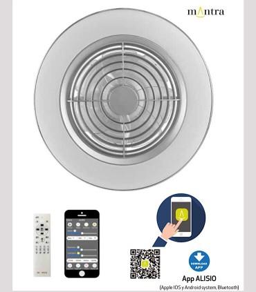 Código QR para descarga de la app de Alisio Mantra gris 6706