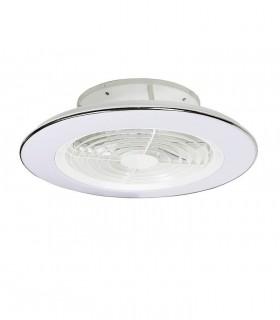Ventilador de techo Alisio Mantra blanco DC con Mando 6705