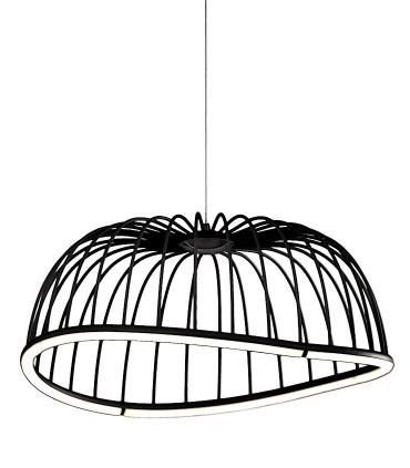 Lámpara Celeste de Mantra Iluminación grande en negro 40w