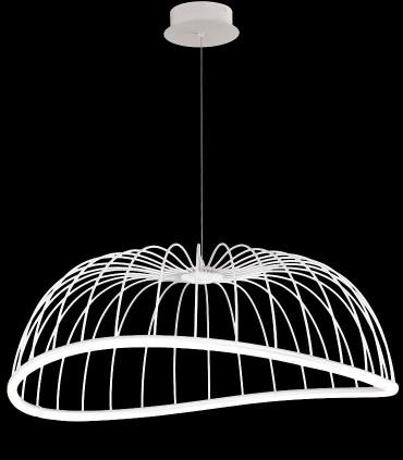 Lámpara Celeste de Mantra Iluminación grande en blanco 40w