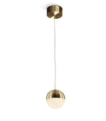 Lámpara led SPHERE 12cm latón - Schuller 793429