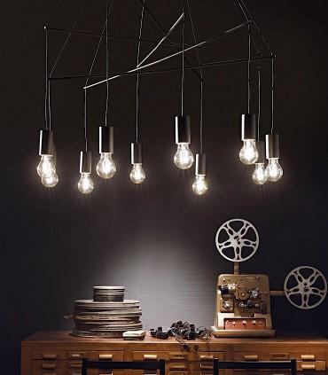 Lámpara POP SP10  IDEAL LUX Negro