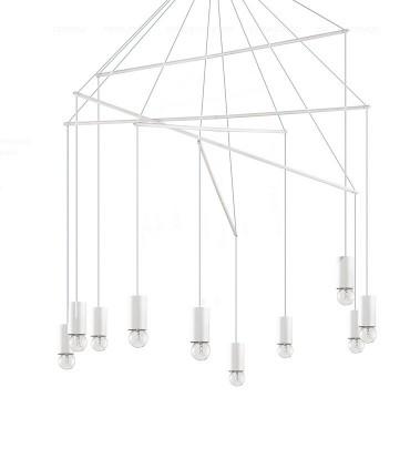 Lámpara POP SP10  IDEAL LUX Blanco