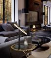 Sobremesa VARAS oro negro 2 luces - Schuller 373579