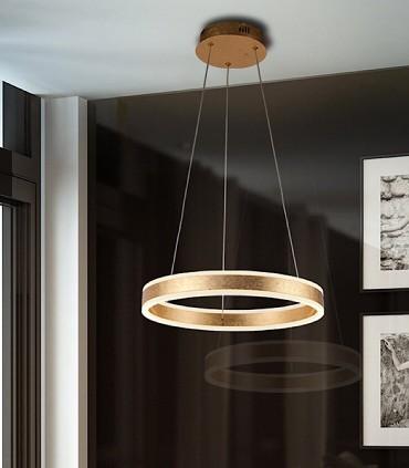 Lámpara led HELIA oro 50cm - Schuller