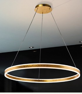 Lampara led HELIA oro 100 cm. - Schuller