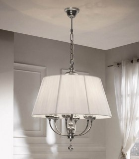 Lámpara 6luces redonda ARTEMIS - Schuller