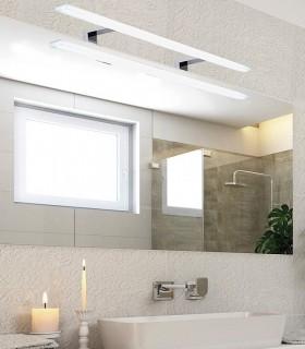 Aplique baño led NADIA 18W IP44  80cm cromo