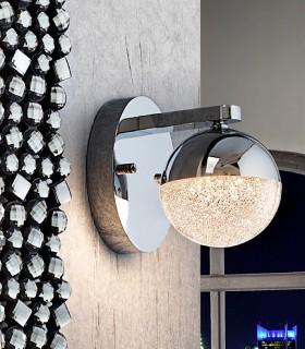 Aplique 1 luz LED SPHERE 12cm. - Schuller