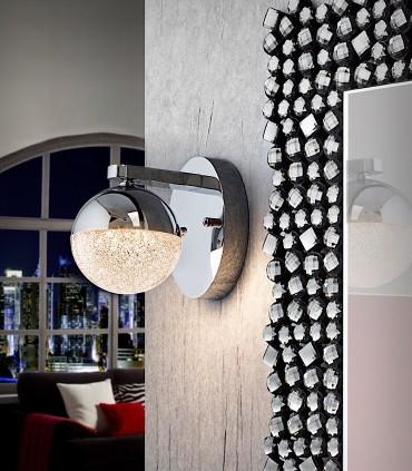 Aplique 1 luz LED SPHERE 12cm - Schuller 793168