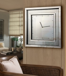 Reloj cuadrado LLUVIA 50x50 - Schuller