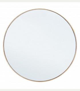 Espejo con marco oro 60 cm.