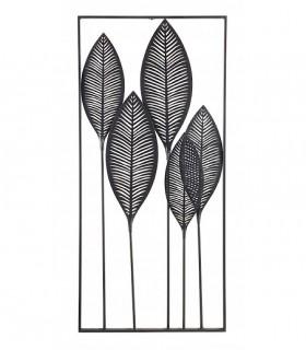 Adorno decoración vertical negro 61x135