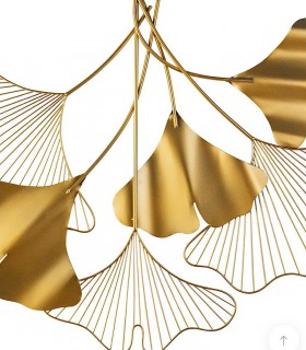 Adorno decoración pared ORO 83x67