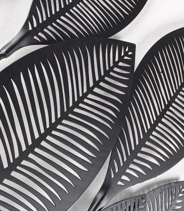 Detalle Adorno decoración vertical negro 61x135