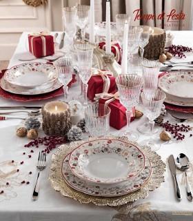 Vajilla Tempo Di Festa Navidad