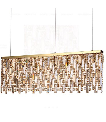 Lámpara colgante ELISIR SP8 Latón 100cm 200071 IDEAL LUX