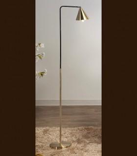Lámpara de lectura VIV oro-negro orientable