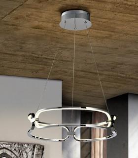 Lámpara led COLETTE 47cm cromo