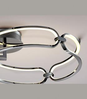 Plafón COLETTE 47cm cromo led - Schuller