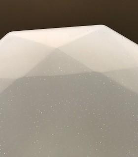 Detalle del difusor Plafón led DIAMANTE SMART Inteligente 80W 5973