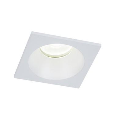 Aro COMFORT GU10 IP54 Blanco Mate Cuadrado Empotrable 6812 Mantra