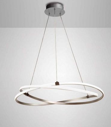 Lámpara de techo INFINITY Led Plata 60W 3000K