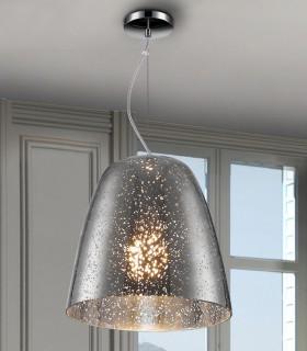 Lámpara QUASAR cromo 1 luz 28cm. - Schuller