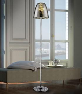 Lámpara de pie QUASAR cromo 3 luces - Schuller