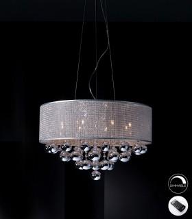 Lámpara ANDROMEDA 8 luces dimable de Schuller