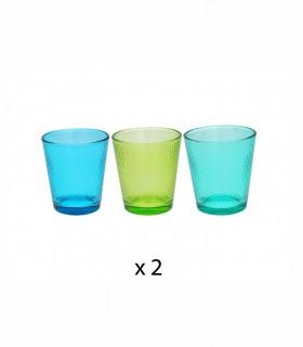Juego 6 vasos GOLF