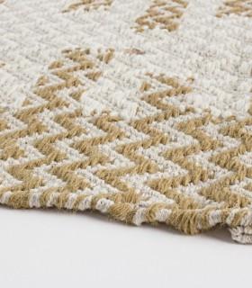 Alfombra Timbuctu blanco-beige 140x200